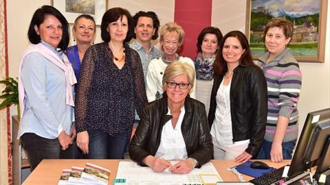Das Team der Seniorenbetreuung der Stadt Salzburg