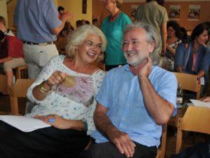 Vizebgm. Anja Hagenauer mit Erich Schützendorf